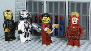 Lego Superhero IRON MAN's suit was Stolen by NEW AGENT