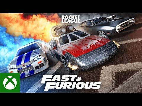 Rocket League — Fast & Furious Bundle Trailer
