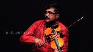 Violin recital by  A Jayadevan on Ganamoorthe