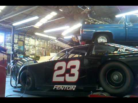 Late Model Stock Car On The Dyno
