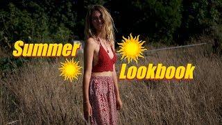 Summer Boho/hippie Look Book!