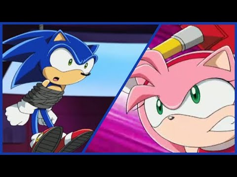Nothing gets in the way of Amy saving Sonic