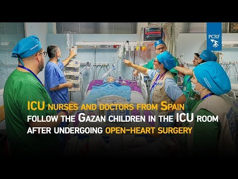 Spanish Pediatric Cardiac Team Help Gazan Children