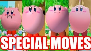 EVOLUTION OF SPECIAL MOVES in Super Smash Bros Series (Original 12 Plus Melee Newcomers)