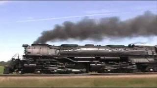 UP 3985 @ Fremont NEB 28 June 2004