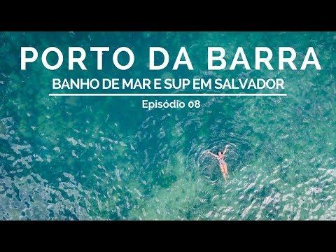 Aqui é o meu lugar Porto da Barra tem águas limpas e piscinas naturais.