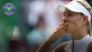 Angelique Kerber vs Naomi Osaka 3R Highlights   Wimbledon 2018