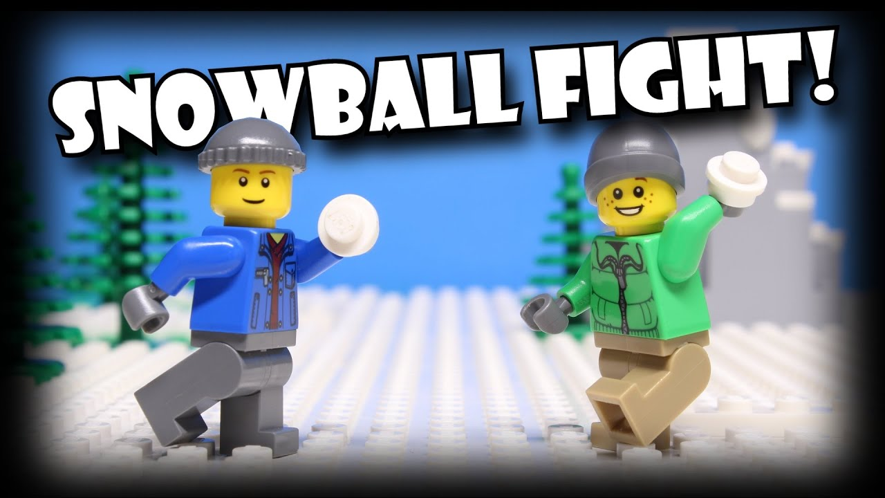 Lego Snowball Fight