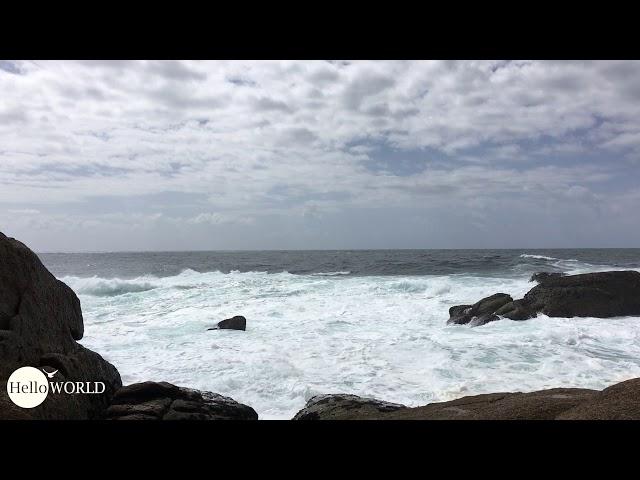 Meeresrauschen an der spanischen Nordküste