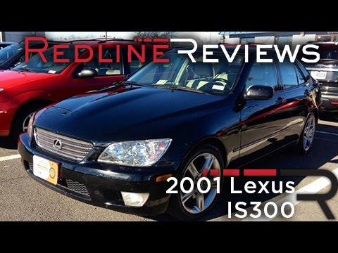 2001 Lexus IS300 Review & Test Drive