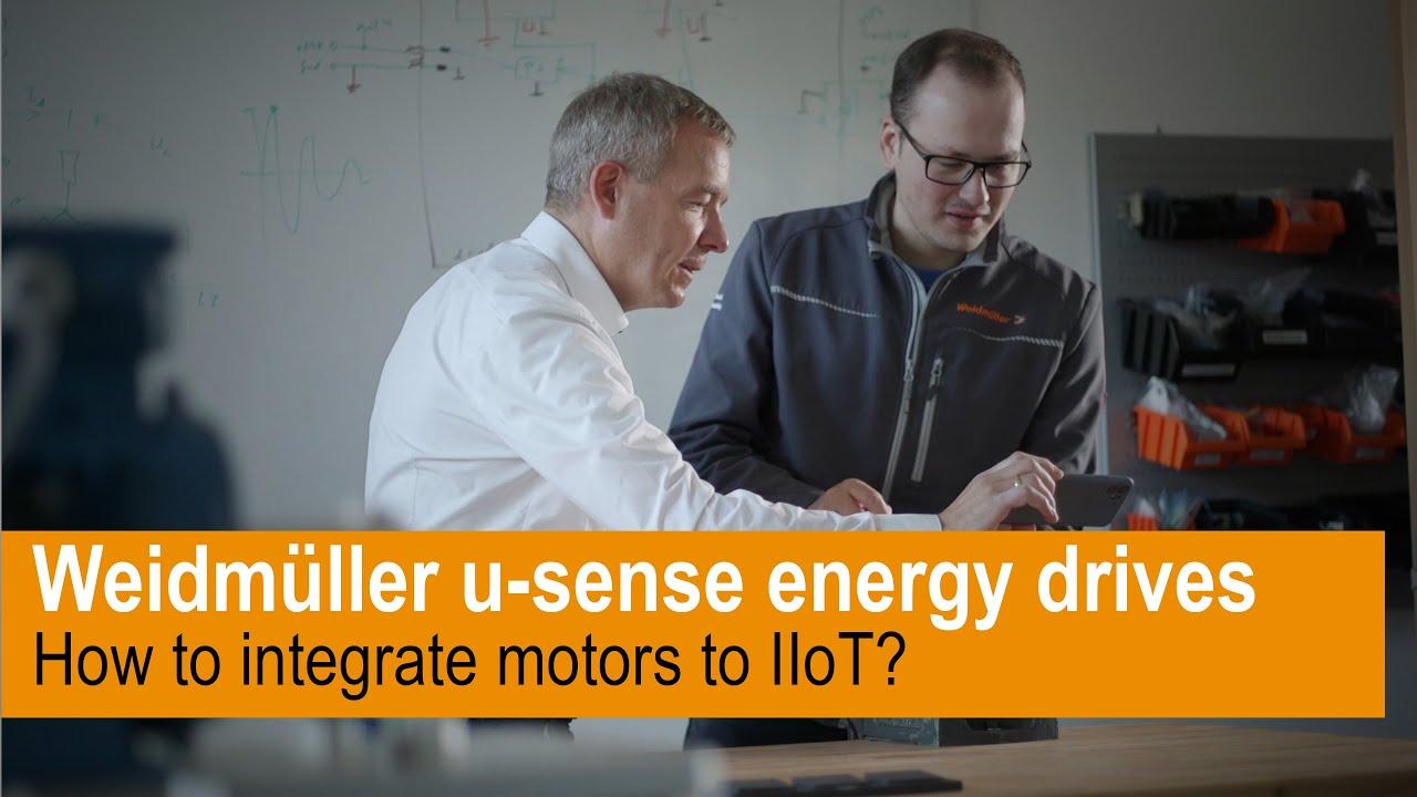 Wie unterstützt u-sense energy drives Ihren Weg zum IIoT?