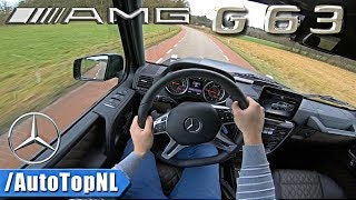 2018 Mercedes G63 AMG 5.5 V8 BiTurbo POV Test Drive by AutoTopNL