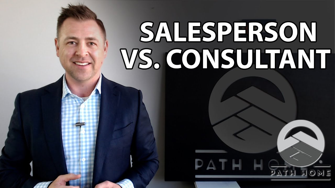 How Does a Consultant Differ From a Salesperson?