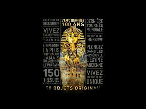 Toutânkhamon : le trésor du pharaon à la Grande Halle de la Villette