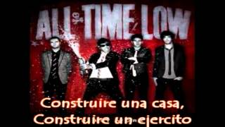 Under A Paper Moon - All Time Low (Subtitulado al Español)