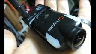 OnePaa X2000 Slim Action Camera 5.8 ghz FPV Setup Review