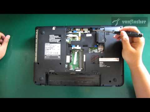Toshiba Satellite C40 C40D Disassembly