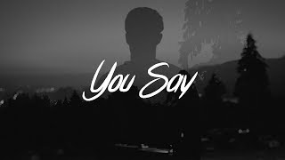 Gambar cover Lauren Daigle - You Say (Lyrics)