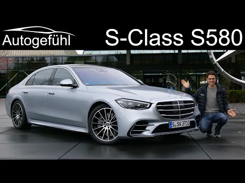 all-new Mercedes S-Class AMG Line S580 V8 FULL REVIEW driving the 2021 V223 (W223) S-Klasse