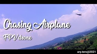 Chasing Airplane || FPV Drone