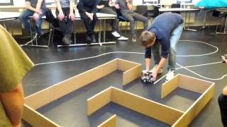 Final round: Lego Mindstorm competition