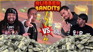 Tag Team Bank Robbing! It Gets CRAZY! (Rubber Bandits)