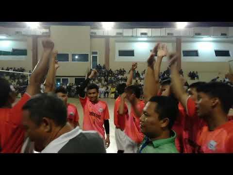 SMAN 15 VS SMKN 1 (1-3)  || kejuaraan Bola Volley sekab Berau 2019