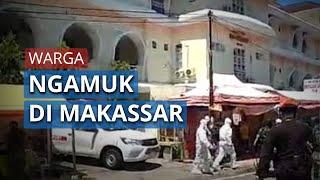 Minta Jenazah PDP Dikebumikan Sendiri oleh Keluarga, Warga di Makassar Ngamuk, TNI Turun Tangan