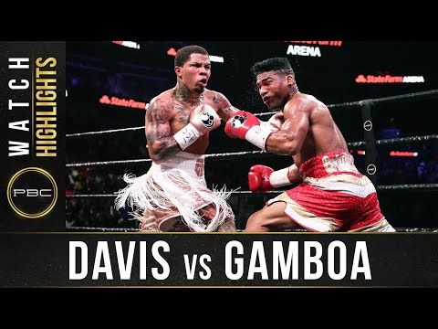 Davis vs Gamboa HIGHLIGHTS: December 28, 2019 - PBC on Showtime