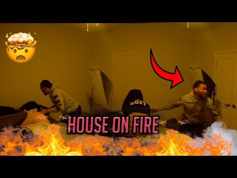 HOUSE ON FIRE!! ( PRANK ON BIG STAR )