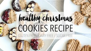 Healthy Christmas Cookies | Easy DIY Holiday Treats Recipe