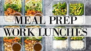 WEEKLY MEAL PREP FOR WORK LUNCHES | VEGAN & HEALTHY