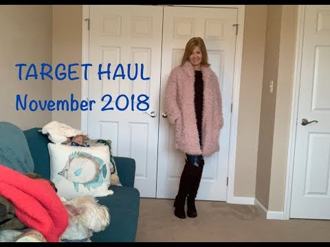Target Haul - November 2018:  Love This Haul!