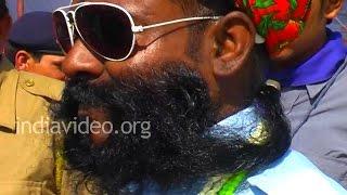 Moustache Competition, Pushkar Fair
