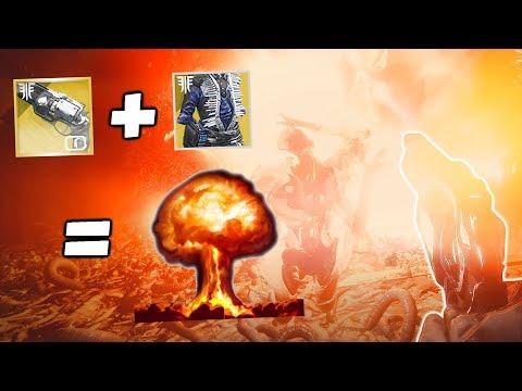 Ace of Spades Catalyst + Chromatic Fire = Nukes [Destiny 2 Shadowkeep]