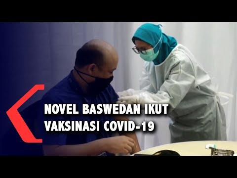 Novel Baswedan Jalani Vaksinasi, Ajak Dukung Program Pemerintah Tangani Covid-19