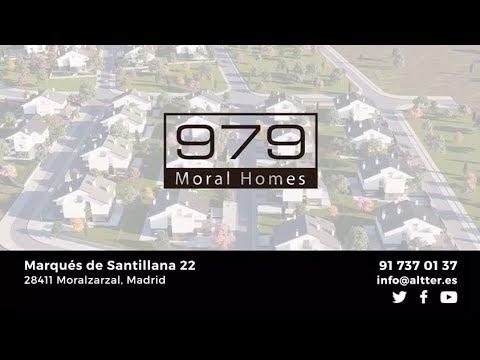 979 Moral Homes: casas unifamiliares de obra nueva en Moralzarzal (Madrid), comercializa Altter Real Estate
