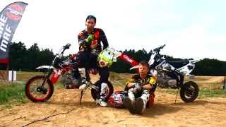 preview picture of video 'Pitbike MRF 140 Test day - short edit'