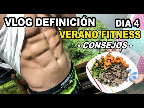 VLOG DIETA DEFINICION 4 || PRIMER VERANO FITNESS