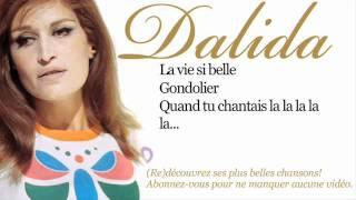 تحميل اغاني Dalida - Gondolier - Paroles (Lyrics) MP3