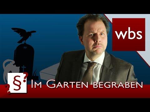 , title : 'Darf ich Haustiere im Garten begraben?   Rechtsanwalt Christian Solmecke'