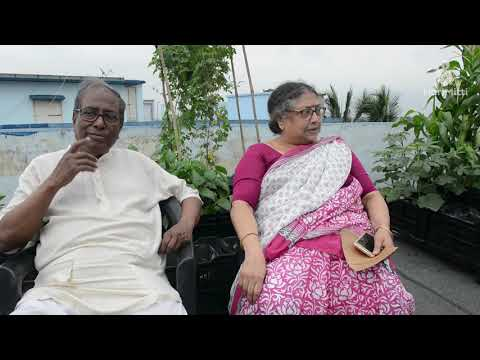 Listen Mr Ranjit Sengupta And Mrs.sumitra sengupta share their urban farming stories
