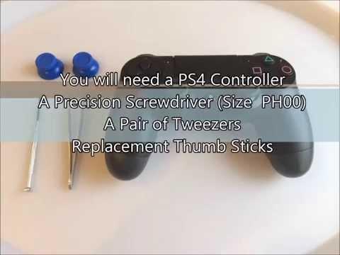 Видео № 0 из игры Стики для DualShock 4 (PS4 Thumb Stick Replacement)