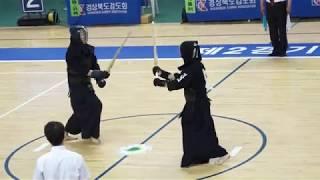 2018 대구대총장기 고교검도선수권대회 단체전 성남고 VS 인천고 동영상