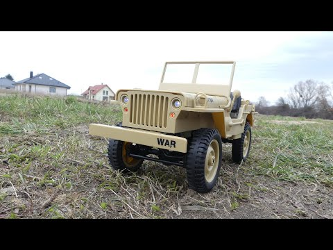 JJRC Q65 - Jeep Willys not in 1/10 scale :D