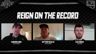 [ONT] Reign on the Record: Matthew Villalta