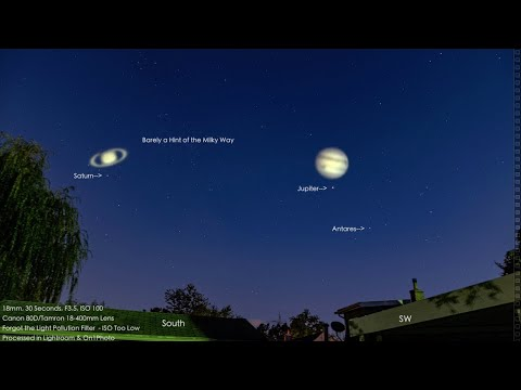 Several Comets Approaching the Sun, Jupiter & Saturn & Strange Squigglies