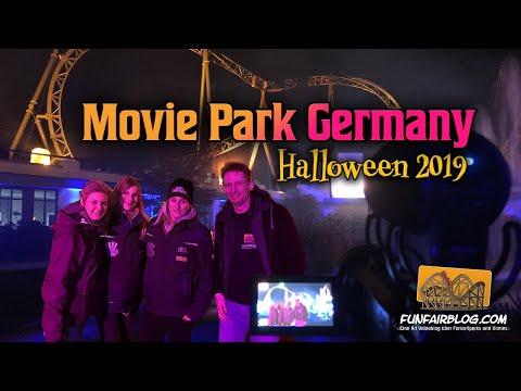 Movie Park Germany Halloween Horror Festival 2019 | Funfairblog #201 [HD]