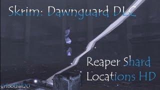 Skyrim:Dawnguard DLC-Reaper Shard locations HD