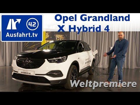 2019 Opel Grandland X Hybrid 4 - Weltpremiere